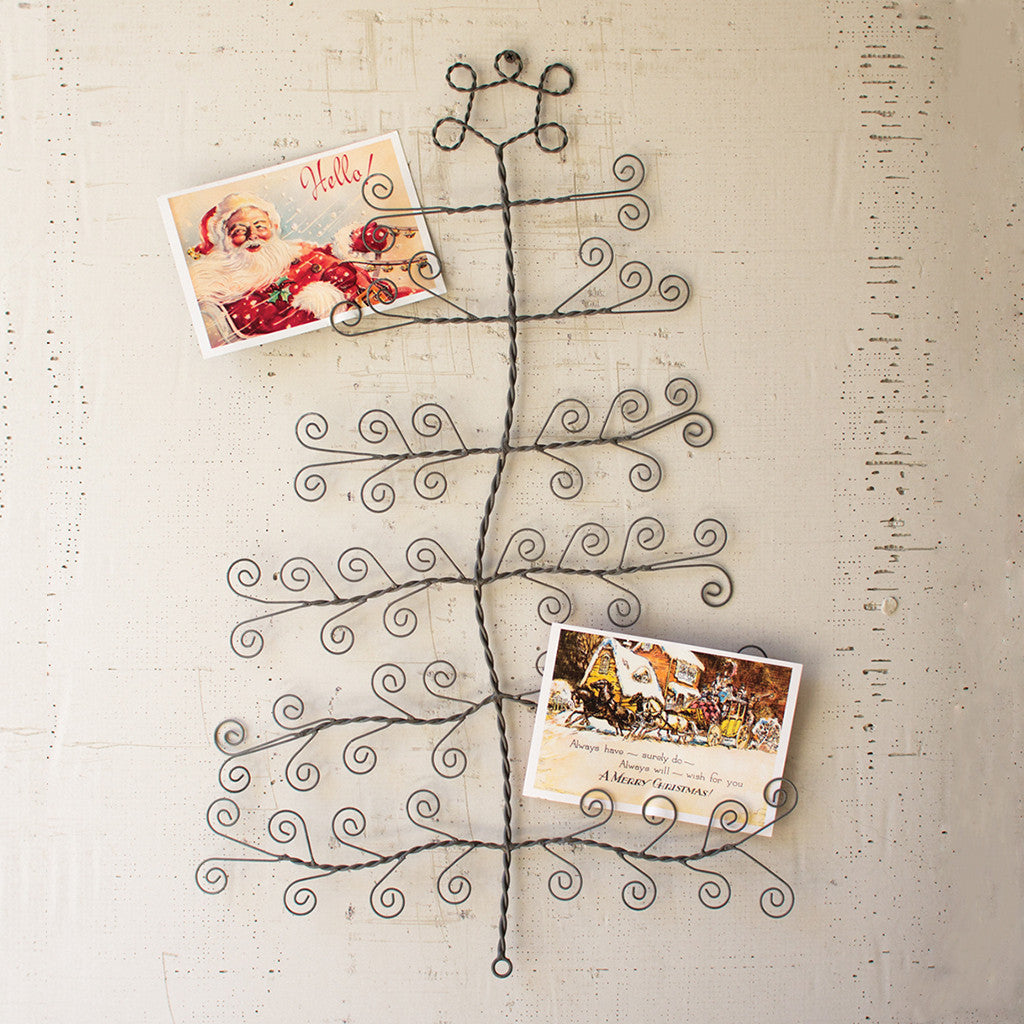 Wire Tree Card Holder