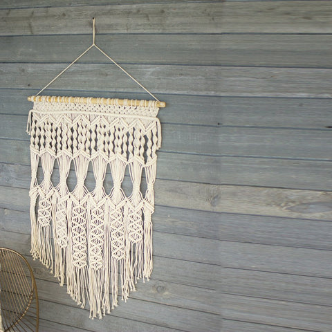Detailed Macrame Wall Hanging