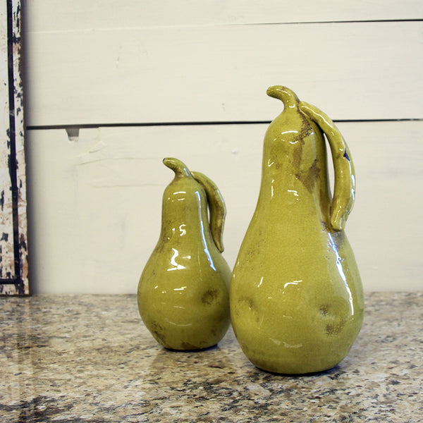 Harrow Pear Statues set of 2 - Bello Lane