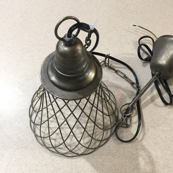 Farmhouse Cage Pendant Light - Bello Lane