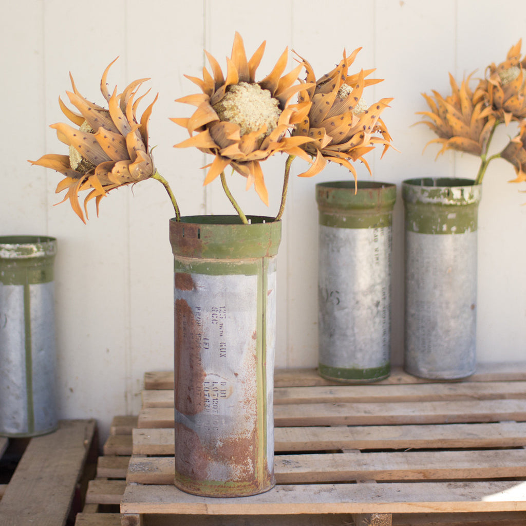 Reclaimed Ammunition Vase