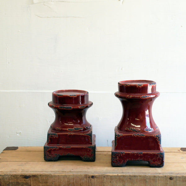 Noble Candle Holders, set of 2 - Bello Lane