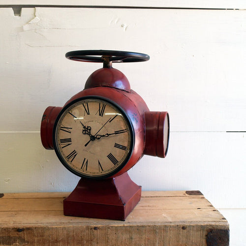 Red Fire Hydrant Clock - Bello Lane