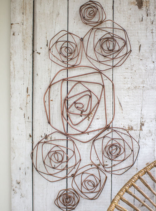 Rose Wall Sculpture - Bello Lane