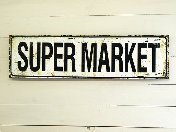 Super Market Sign - Bello Lane