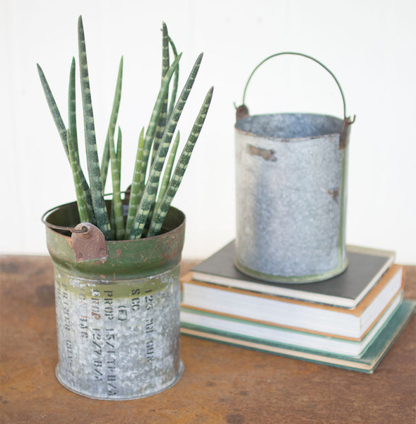 Reclaimed Hardware Bucket