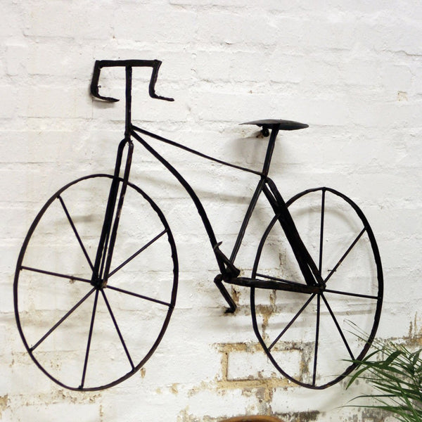 Bicycle Wall Sculpture