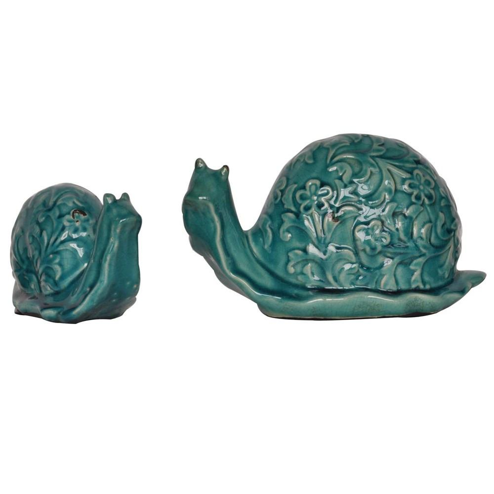 Escargot Statue set of 2 - Bello Lane