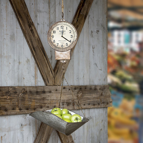 Farmhouse Scale Clock - Bello Lane