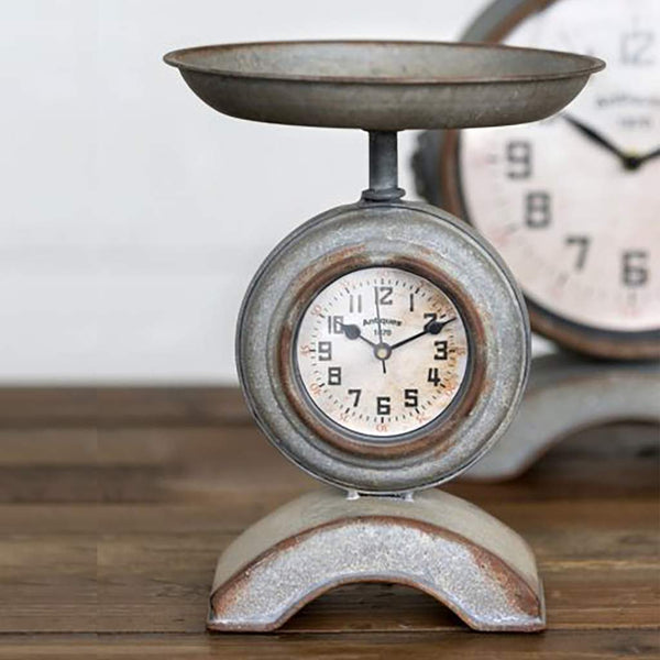 Farmhouse Scale Clock