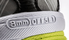 8 mm offset Saucony