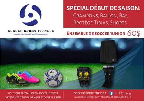 Soccer Sport Fitness special debut saison 2016