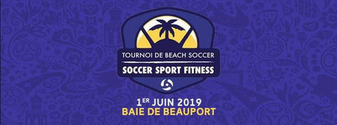 Logo tournoi beach soccer 2019