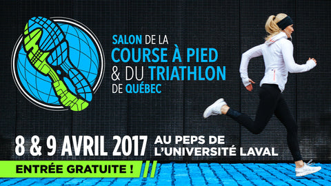 Salon course a pied et triathlon Quebec