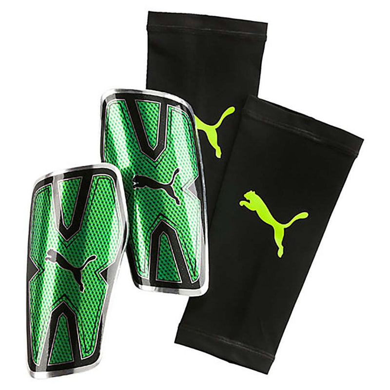 Puma evoPOWER Vigor Graphic Guard soccer shin guards Soccer Sport Fitness