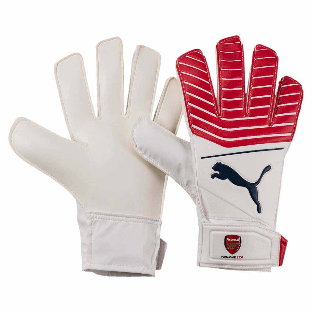 Puma Arsenal Puma One Grip 17.4 gants de gardien de soccer junior Soccer Sport Fitness