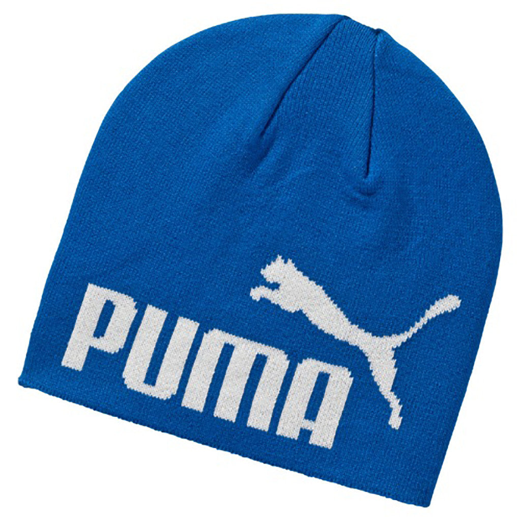 Tuque PUMA Essential Big Cat No 1 Logo Beanie bleu Soccer Sport Fitness