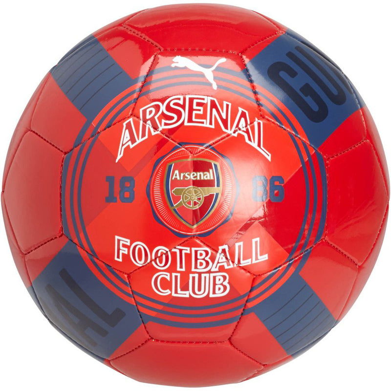 Puma Arsenal FC red soccer ball