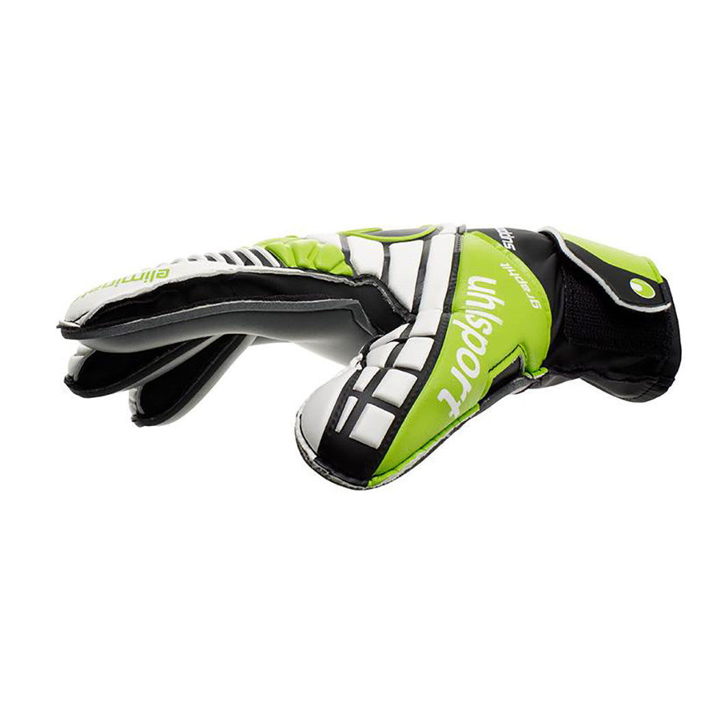 Uhlsport Eliminator Soft Graphit SF gants de gardien de but de soccer vue pouce