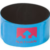 Nathan Reflex runner's reflective snap bands blue