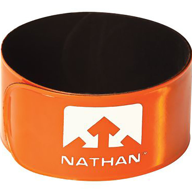 Nathan Reflex runner's reflective snap bands yellow