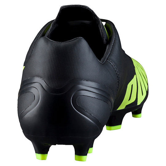 Puma evoSpeed 4.4 FG soccer cleats black yellowrv