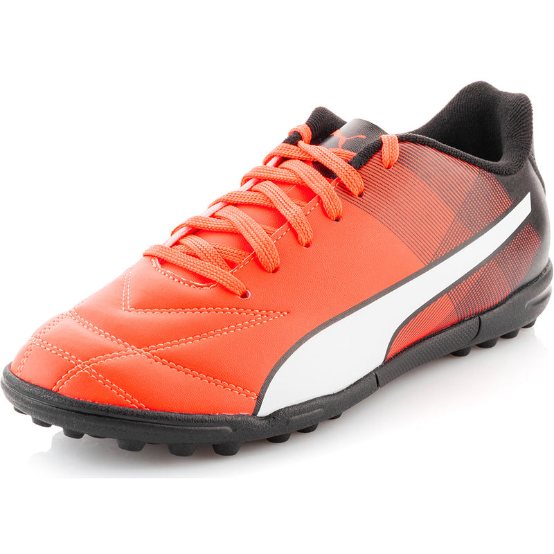 Puma Adreno II TT turf soccer cleats red black