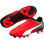 PUMA Adreno II FG Junior soccer cleats yellow blue red black