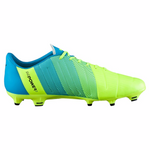 PUMA evoPOWER 3.3 FG soccer cleats yellow blue lv