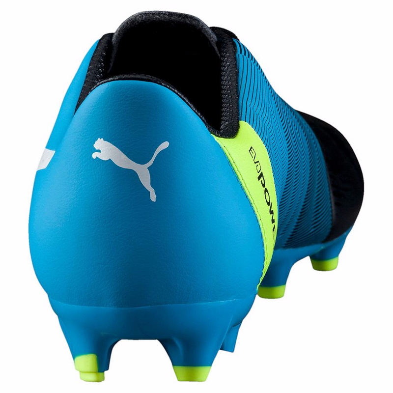 PUMA evoPOWER 3.3 FG soccer cleats blue black rv