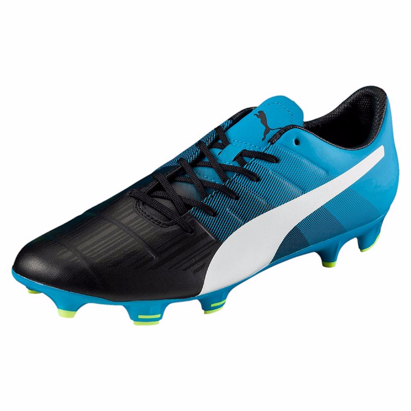 PUMA evoPOWER 3.3 FG soccer cleats blue black