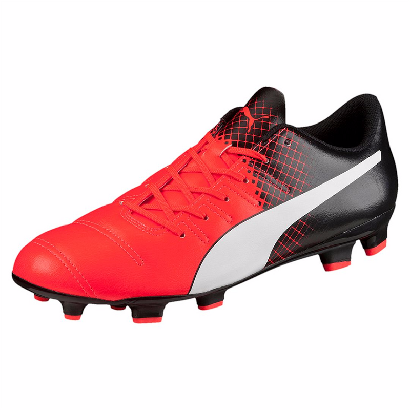 Puma evoPOWER 4.3 Tricks FG soccer cleats black red