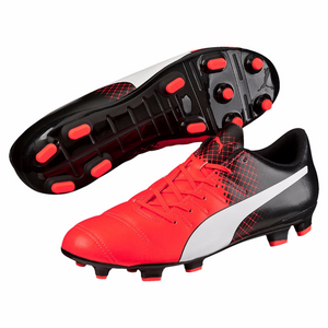 Puma evoPOWER 4.3 Tricks FG soccer cleats black red pair