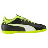 Puma evoTOUCH 3 IT JR indoor soccer shoes black yellow lv