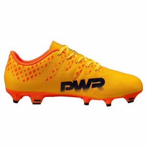 Puma evoPOWER Vigor 4 FG junior chaussure de soccer enfant vue laterale interne