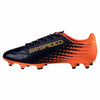 Puma evoSPEED 17.4 FG soccer cleats orange blue lv