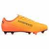 Puma evoSPEED 17.5 FG junior soccer cleats orange bleu lv3
