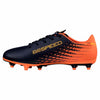 Puma evoSPEED 17.5 FG junior soccer cleats orange bleu lv4
