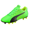 PUMA adreno III junior soccer cleats green black yellow