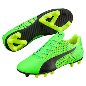 PUMA adreno III junior soccer cleats green black yellow pv