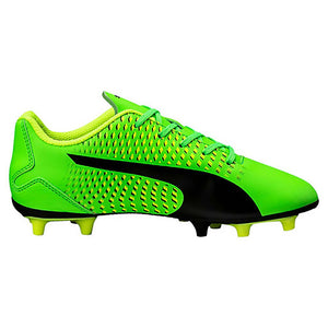 PUMA adreno III junior soccer cleats green black yellow lv