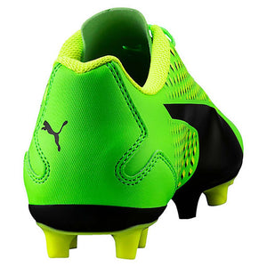 PUMA adreno III junior soccer cleats green black yellow rv