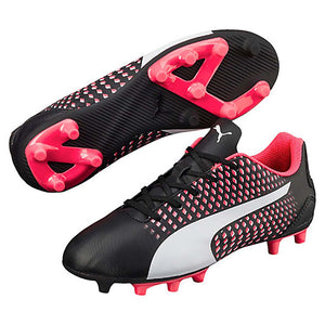 PUMA adreno III junior soccer cleats black white plasma pv