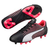 PUMA adreno III junior soccer cleats black white plasma pair