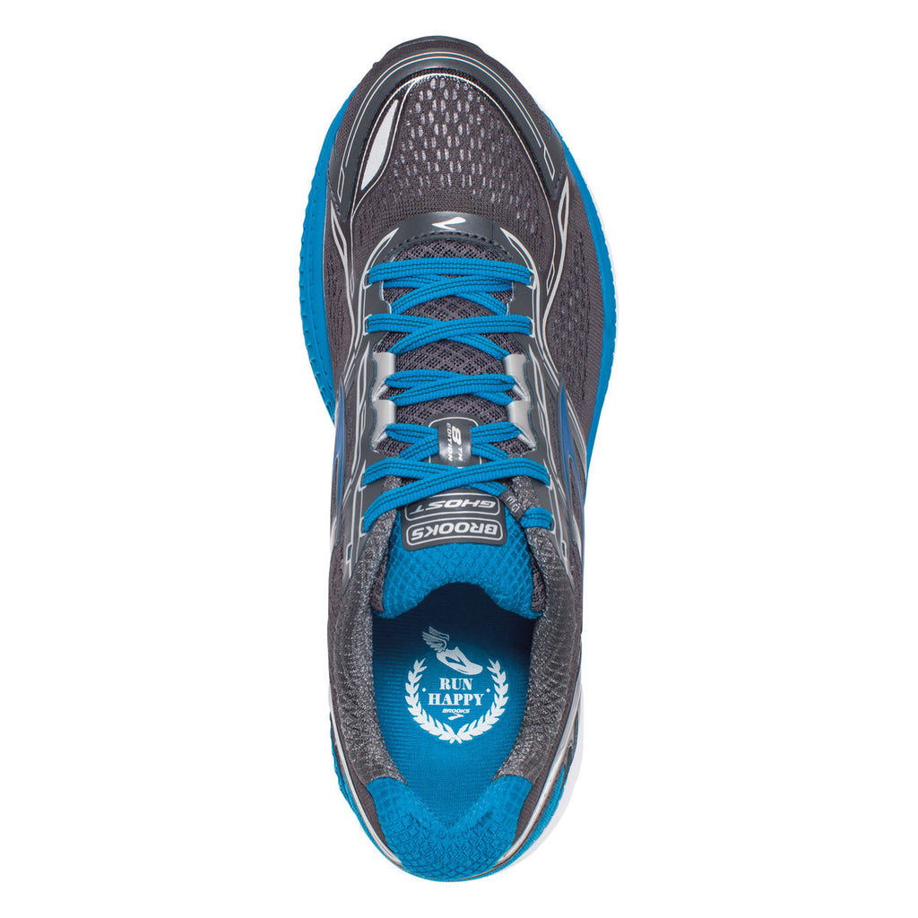 Brooks Ghost 8 chaussure de course a pied homme anthracite uv