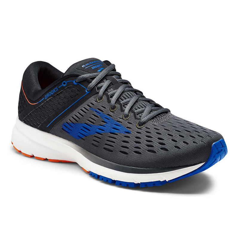 Brooks Ravenna 9 men's running shoes ebony blue orange lv
