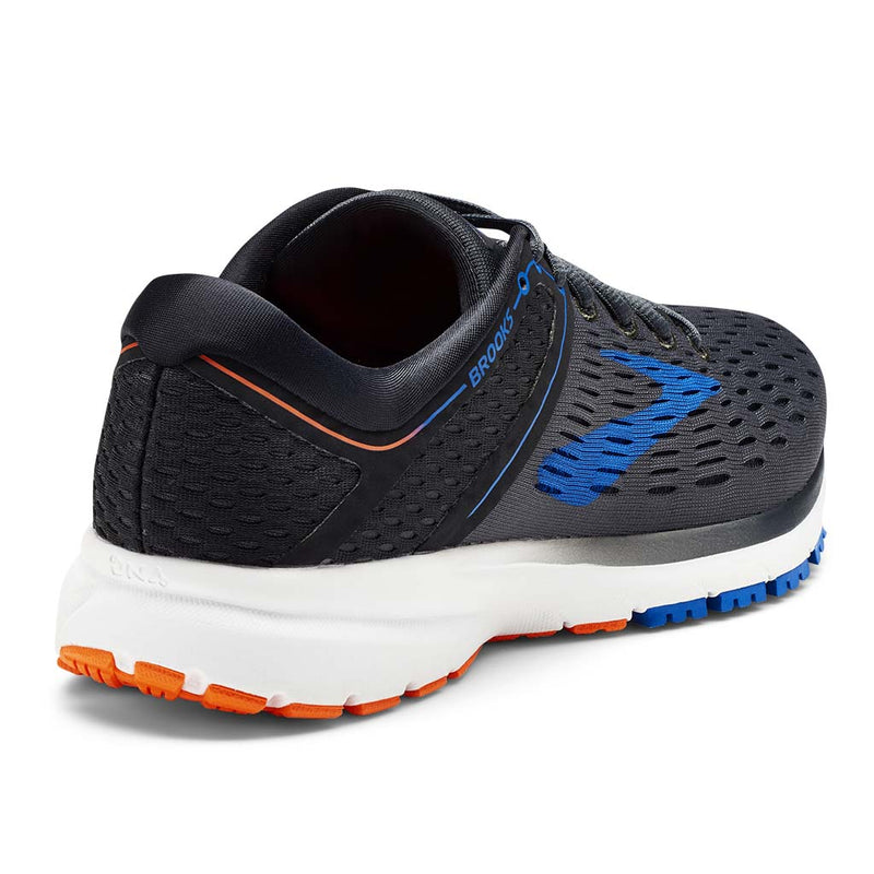 Brooks Ravenna 9 men's running shoes ebony blue orange rv
