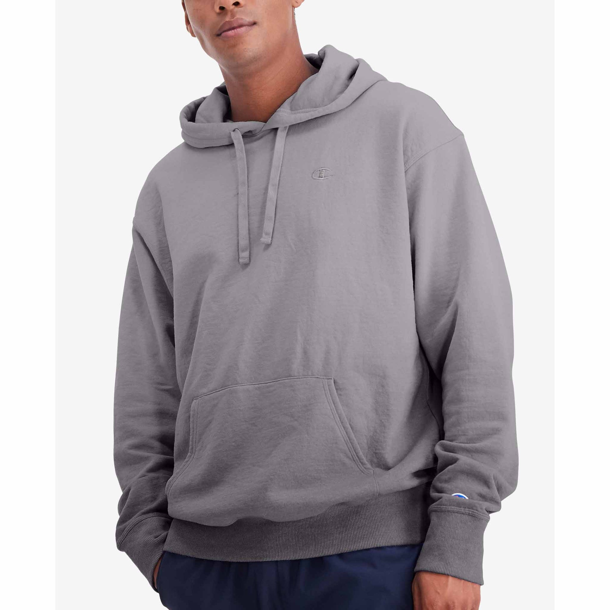 Champion Powerblend Ombre Hoodie Sweatshirt à capuchon pour homme Ombre Ginger Red
