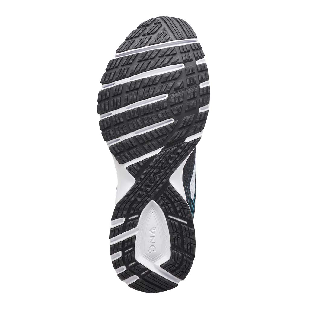 Brooks Launch 5 women's running shoes black teal green white sole