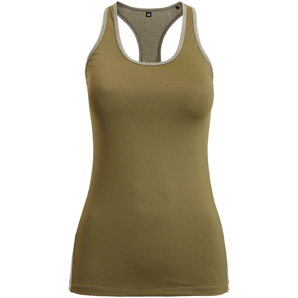 Bjorn Borg Cody Racerback Tank camisole sport femme olive night Soccer Sport Fitness